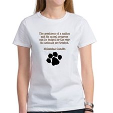 Gandhi Animal Quote Tee