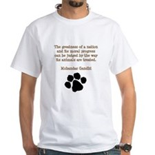 Gandhi Animal Quote Shirt