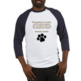 Gandhi Animal Quote Baseball Jersey
