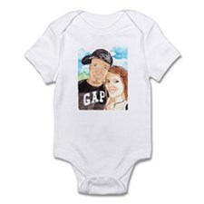 John and Courtney Infant Bodysuit