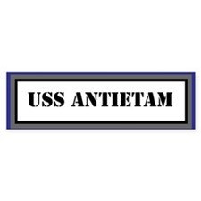 USS Antietam Bumper Sticker