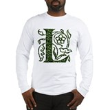 Ivy Leaf Monogram L Long Sleeve T-Shirt