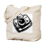 Camera Fan Tote Bag