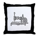 Funny Sew Throw Pillow