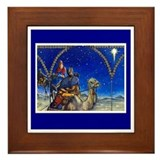 Three Kings Framed Tile