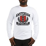Amsterdam Netherlands Long Sleeve T-Shirt