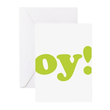 oy! Greeting Cards (Pk of 20)