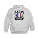 Paris France Hoody