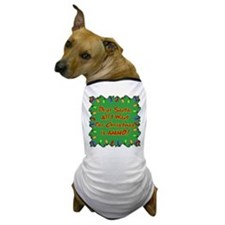 Santa Christmas Ammo Dog T-Shirt
