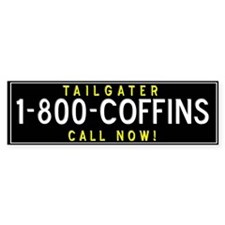 fun Tailgater Bumper Bumper Sticker