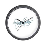 Scrapbooker - I collect smiles Wall Clock