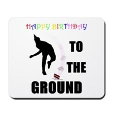 Colorful Happy Birthday to th Mousepad