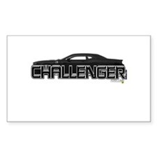 Challenger LX Rectangle Sticker 10 pk)