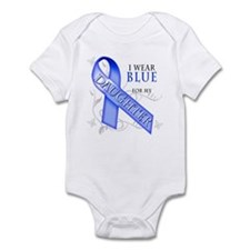I Wear Blue for my Daughter Infant Bodysuit