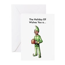 Gross Holiday Elf Cards (Pk of 20)