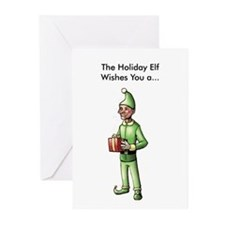 Gross Holiday Elf Cards (Pk of 10)