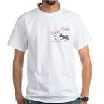 Lucky Lady Lounge White T-Shirt