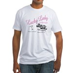 Lucky Lady Lounge Fitted T-Shirt