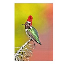 Ho Ho Ho Hummingbird III Postcards (Package of 8)