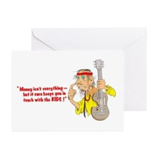 Money isn't everything, but.. Greeting Cards (Pk o
