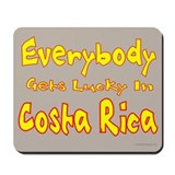 Get Lucky in Costa Rica Mousepad