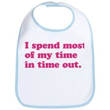 Girl Time Out Bib