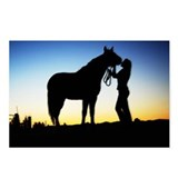 Cowgirl Sunset Postcards (Package of 8)