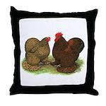 Cochin Pair Throw Pillow