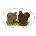Cochin Pair Oval Sticker