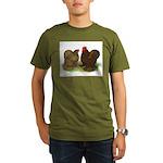 Cochin Pair Organic Men's T-Shirt (dark)