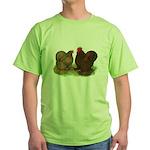 Cochin Pair Green T-Shirt