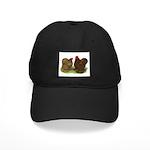 Cochin Pair Black Cap