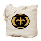Who Dat Lantern Corps Black A Tote Bag