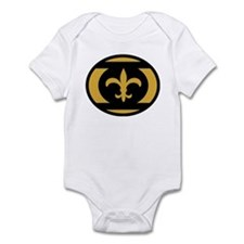 Who Dat Lantern Corps Black A Infant Bodysuit