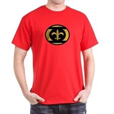 Who Dat Lantern Corps Black A T-Shirt