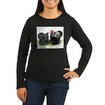 Cochin Couple Women's Long Sleeve Dark T-Shirt