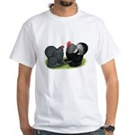 Cochin Couple White T-Shirt