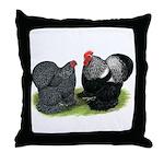 Cochin Couple Throw Pillow