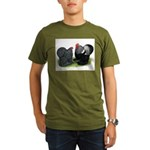 Cochin Couple Organic Men's T-Shirt (dark)