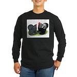 Cochin Couple Long Sleeve Dark T-Shirt