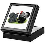 Cochin Couple Keepsake Box