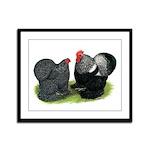 Cochin Couple Framed Panel Print