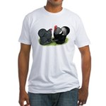 Cochin Couple Fitted T-Shirt