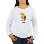 Cello Chick Women's Long Sleeve T-Shirt
