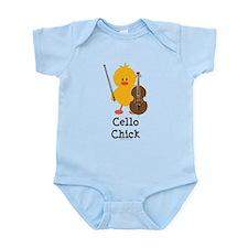 Cello Chick Infant Bodysuit