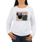 Cochin Rooster & Hen Women's Long Sleeve T-Shirt
