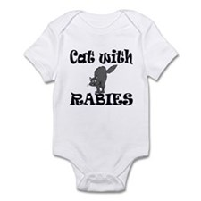 Cat with Rabies Infant Bodysuit