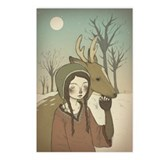 Cute Deer Postcards (Package of 8)