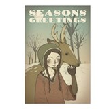 Unique Deer Postcards (Package of 8)