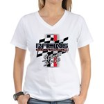 Street Strip Women's V-Neck T-Shirt